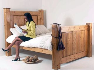 5ft king size Regency high foot end bed frame
