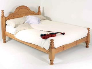 4ft6 double, Classic panel low foot end bed frame