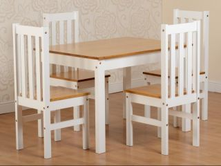 Ludlow table + 4 chairs
