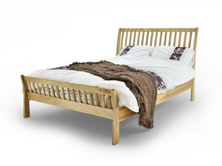 Oak aston bed frame