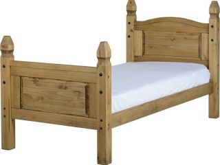3ft Corona high foot end bed frame