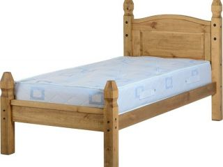 Corona low foot end bed frame