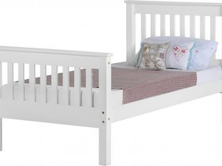 Monoco high foot end bed frame